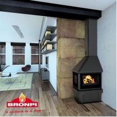 Krbová kamna Bronpi LISBOA-EI VISION