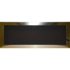 Krbová mřížka 190 x 490 lěštěný mosaz PROBEX