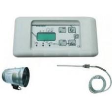 Automatická regulace přívodu vzduchu 100 RT 08 P Lux nerez